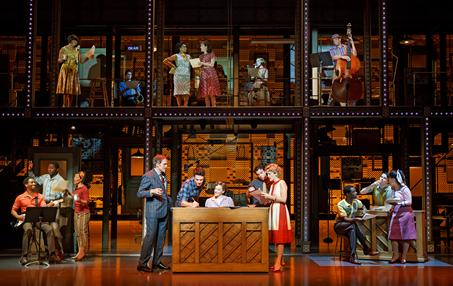 PUTTIN' ON THE HITS: A scene from 'Beautiful.' Photo: Joan Marcus