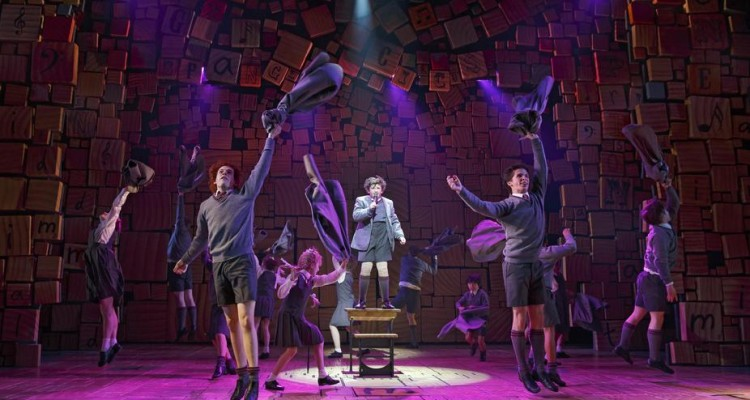 SCHOOL DAYS: The cast of 'Matilda The Musical.' Photo: Joan Marcus