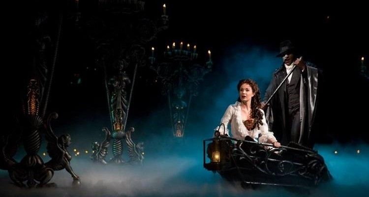 TIMELESS TOURIST ATTRACTION: Sierra Boggess & Norm Lewis in 'Phantom.' Photo: Matthew Murphy