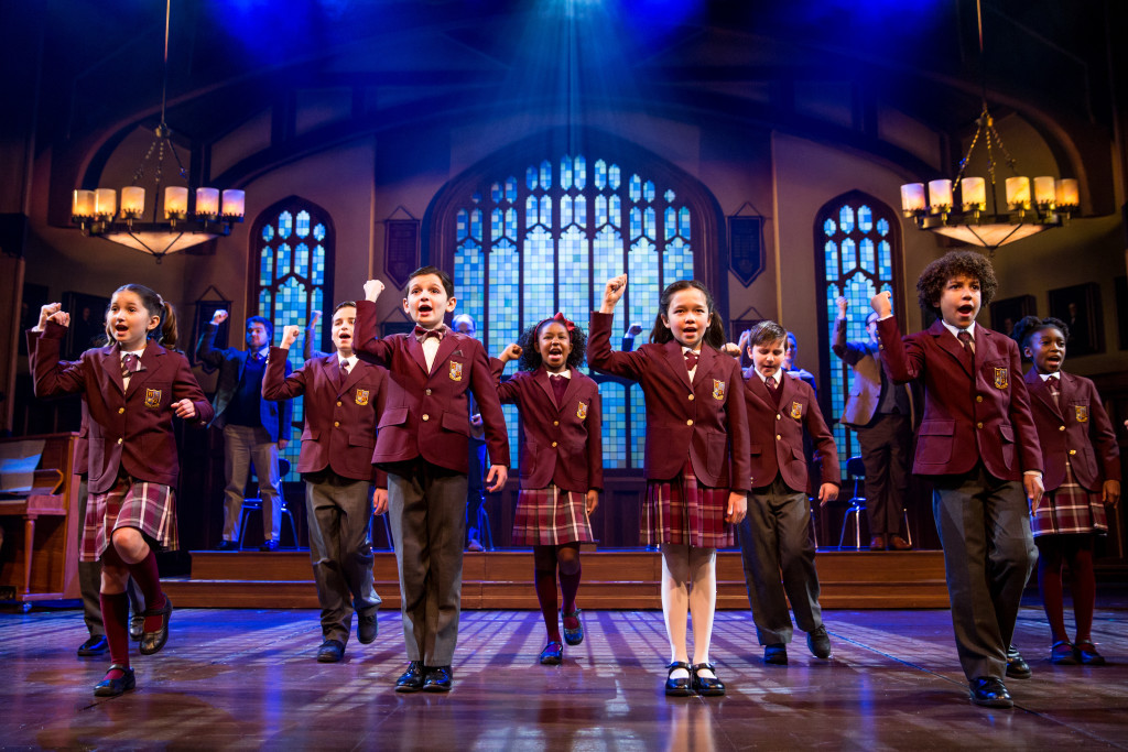 'SCHOOL OF ROCK': The children's ensemble. Photo: Matthew Murphy