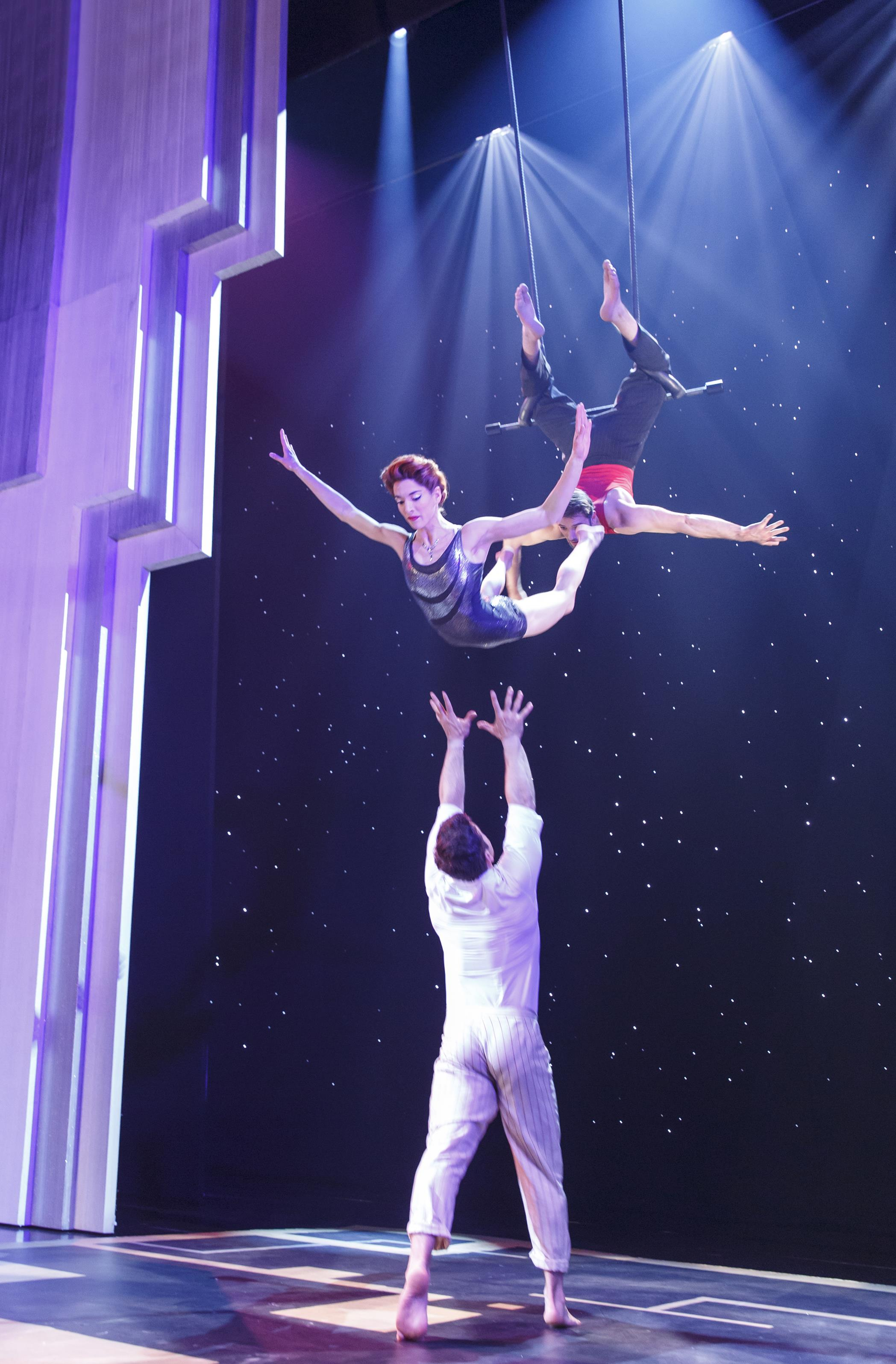 'PARAMOUR': (left to right) Martin Charrat, Myriam Deraiche, Samuel WIlliam Charlton. Photo: