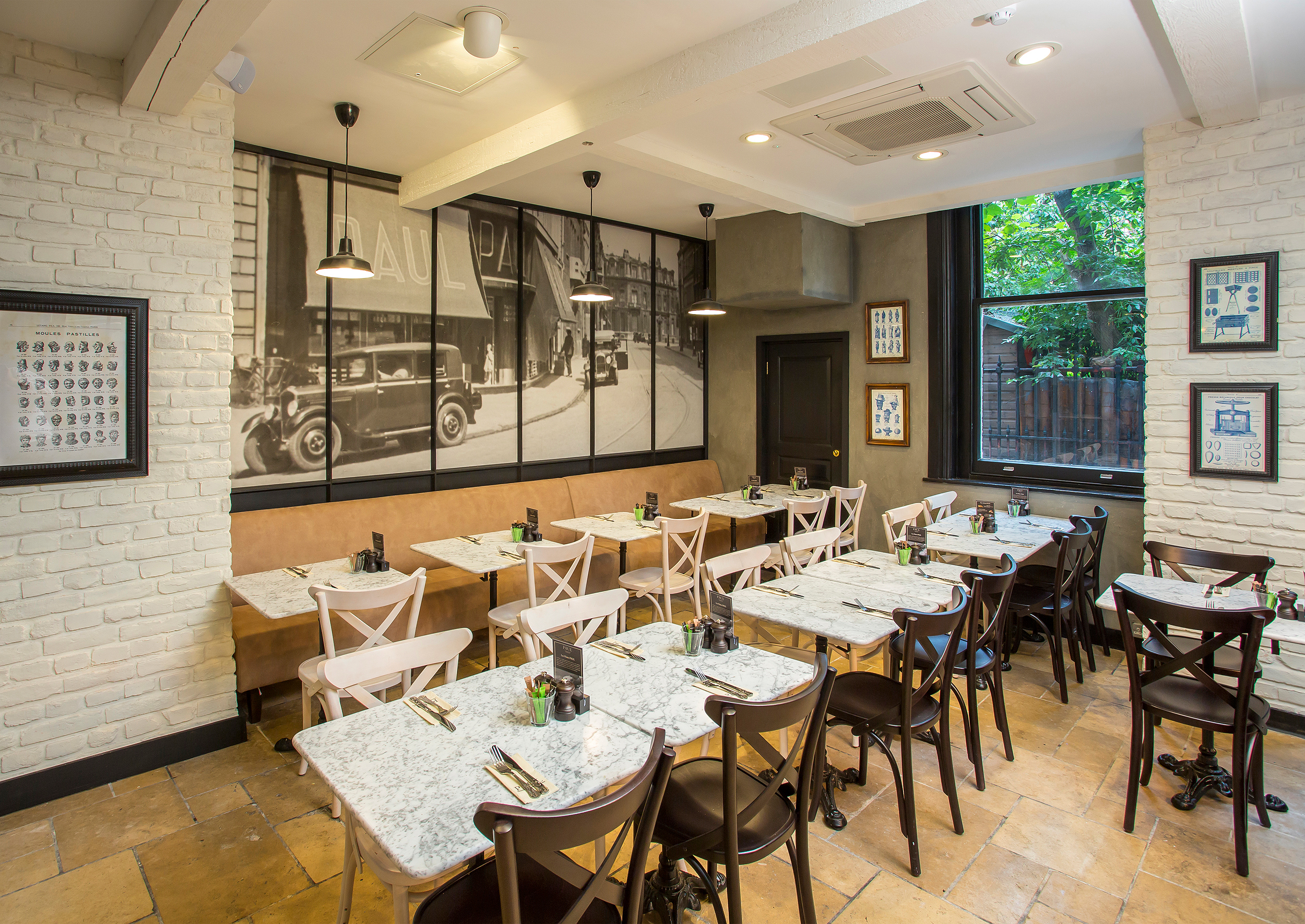 Le restaurant de paul london dining stagezine for Cafe de jardin in covent garden