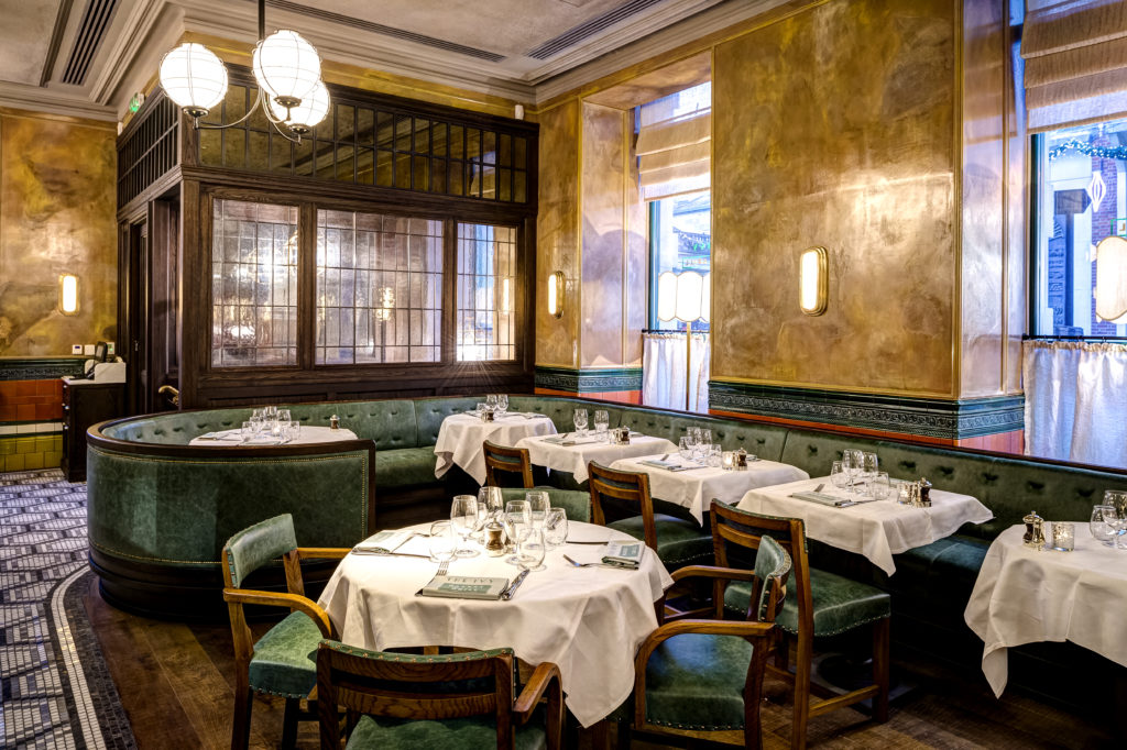 Ivy Market Grill For Pre Theatre In Covent Garden London